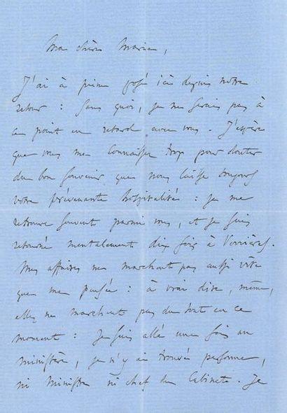 GOUNOD Charles (1818-1893). L.A.S. «Ch....