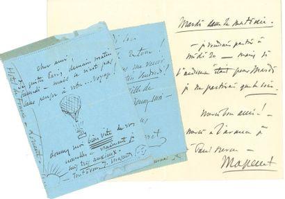 MASSENET Jules (1842-1912). 35 L.A.S. «J....
