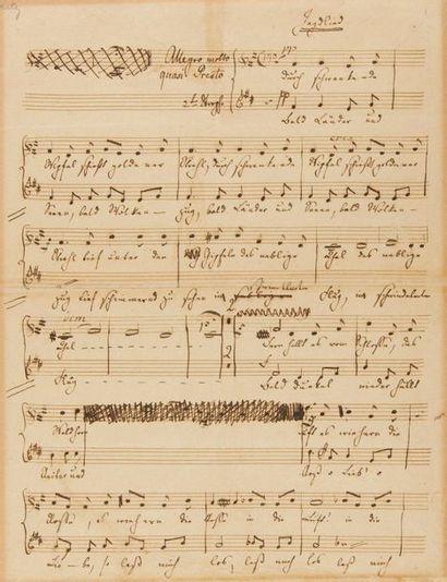 MENDELSSOHN-BARTHOLDY Felix (1809-1847)....
