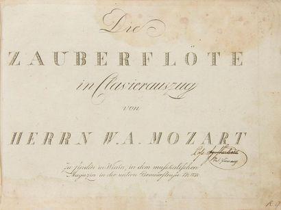 MOZART Wolfgang Amadeus (1756-1791). Die...