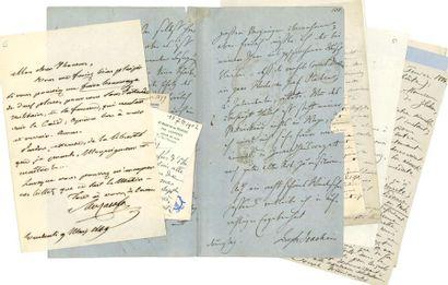 MUSIQUE. 50 lettres ou pièces, la plupart...