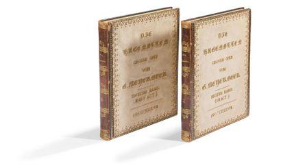 OPÉRA. Collection de premières éditions et...