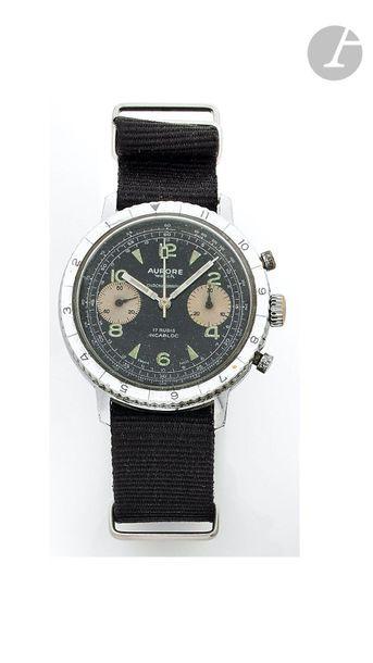 AURORE Watch. Vers 1970 Montre bracelet pour...