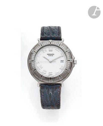 HERMES. Vers 2000 N°202048 Montre bracelet...