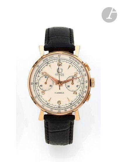 TITUS Genève. Vers 1960 N°1280 Montre bracelet...