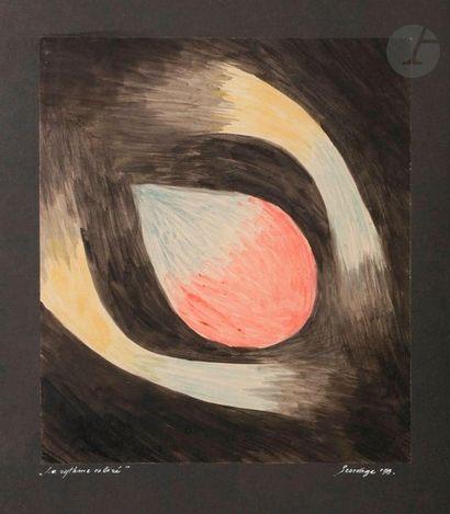 Léopold SURVAGE (1879-1968) Le Rythme coloré,...