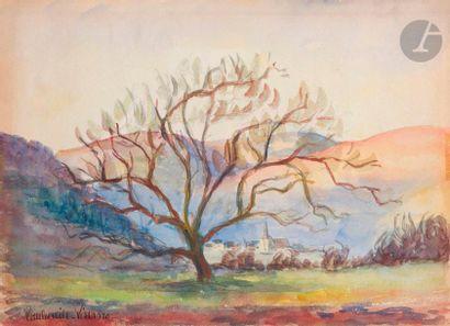 Paul-Émile PISSARRO (1884-1972) Paysage à...