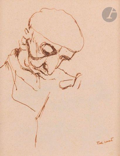 Pierre Jacob dit TAL-COAT (1905-1985) Portrait...