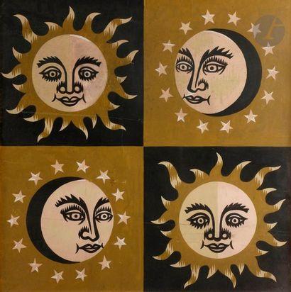 Jean PICART LE DOUX (1902-1982) Lunes et...