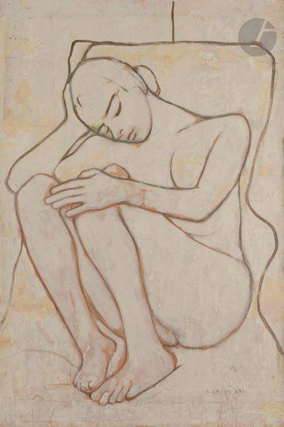 Felice CASORATI (1883-1963) Ripposo, 1960...