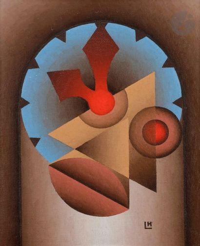 Marcel LEMPEREUR-HAUT (1898-1986) L'Horloge...