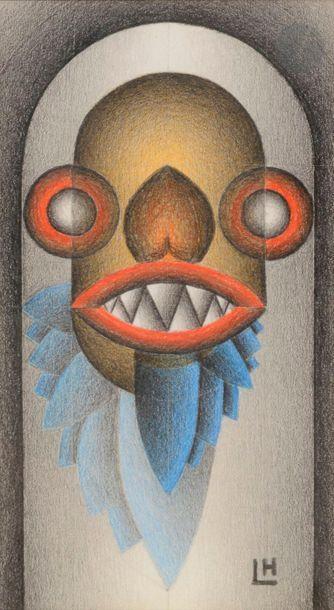 Marcel LEMPEREUR-HAUT (1898-1986) Grotesque...