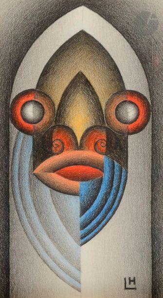 Marcel LEMPEREUR-HAUT (1898-1986) Figure...