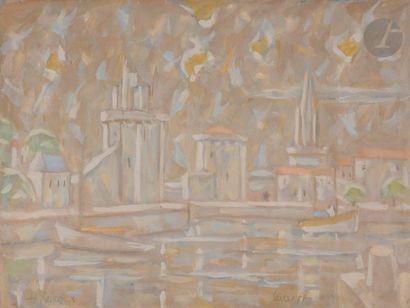 Hans SEILER (1907-1986) La Rochelle, 1978...