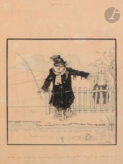 Benjamin RABIER (1869-1939) Égal de l'homme,...