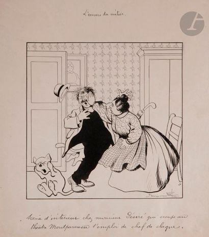 Benjamin RABIER (1869-1939) L'Envers du métier...