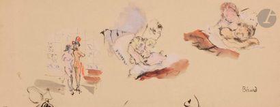 Christian BÉRARD (1902-1949) Femmes endormies...