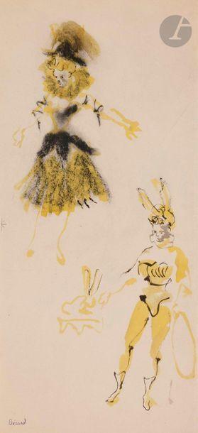 Christian BÉRARD (1902-1949) Le Lapin Encre...