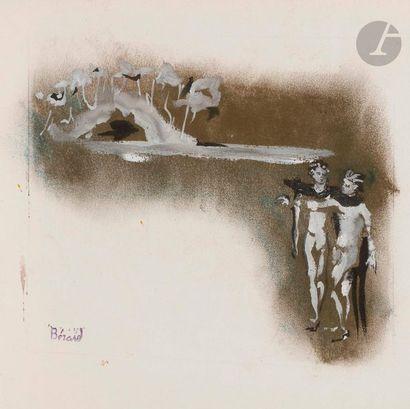 Christian BÉRARD (1902-1949) La Grotte, vers...