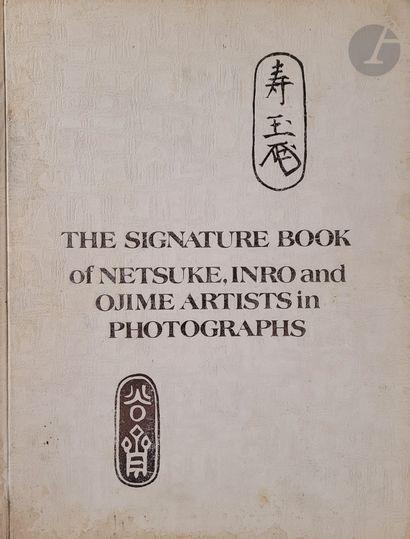 [JAPON - NETSUKE] Cinq ouvrages: - Jirka-Schmitz...