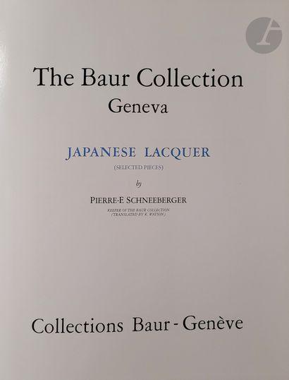 [JAPON - PORCELAINE ET LAQUE] Cinq ouvrages:...