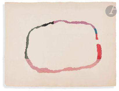 Anne-Marie MILLIOT (1977-1985) Collage, 1978...