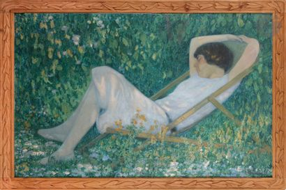 Raymond THIBÉSART (1874-1968) Tranquillité,...