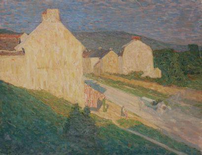 Raymond THIBÉSART (1874-1968) L'Entrée du...