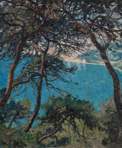 Raymond THIBÉSART (1874-1968) Villefranche...