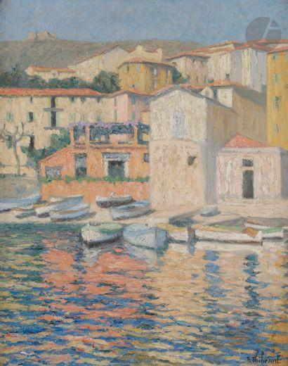 Raymond THIBÉSART (1874-1968) Villefranche,...