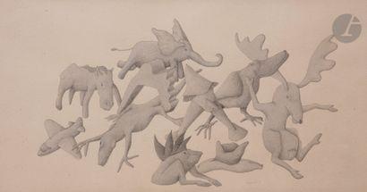 François MEZZAPELLE (né en 1955) Composition,...