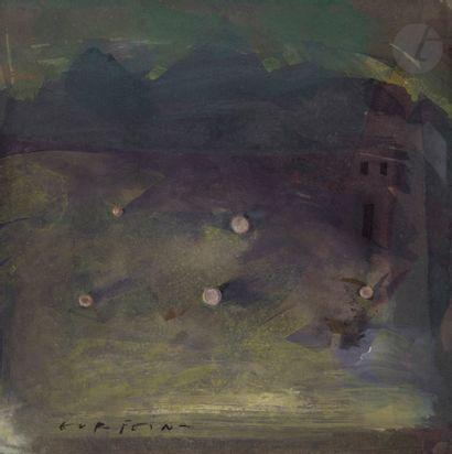 Mario GURFEIN [argentin] (né en 1945) Cielo...