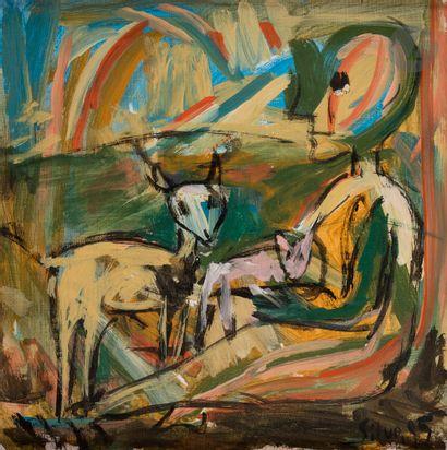 Julio SILVA [argentin] (1930-2020) Composition,...