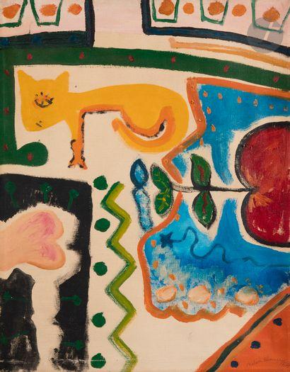 Nelson BLANCO [argentin] (1934-1999) Composition,...