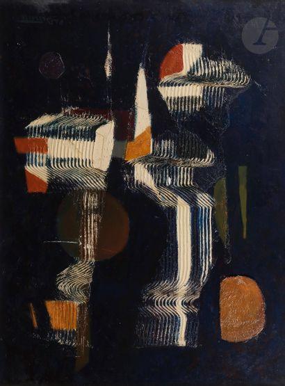 Pierre de BERROETA (1914-2004) Composition...