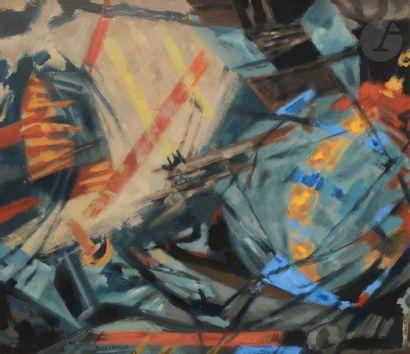 Jean BERTHOLLE (1909-1996) Composition, 1963...