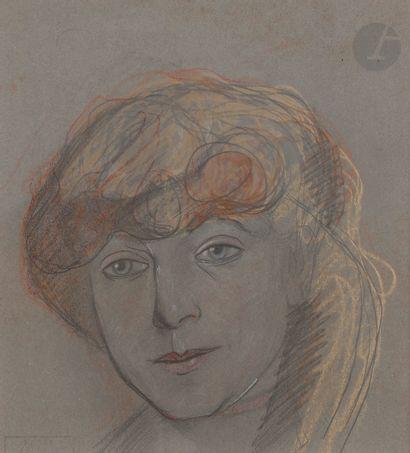Alexis MERODACK-JEANEAU (1873-1919) Portrait...