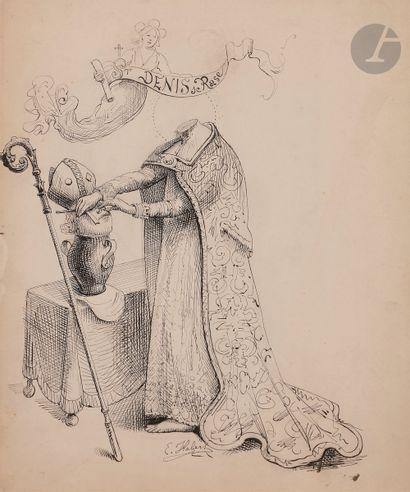 Eugène Louis HABERT (1842-1916) Saint Denis...