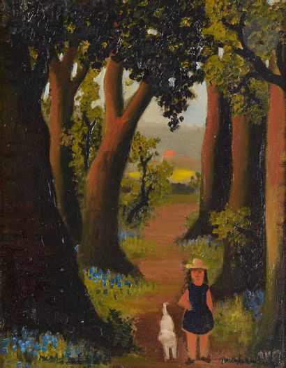 Madeleine Kula, dite LUKA (1894-1989) Promenade...