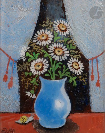 Madeleine Kula, dite LUKA (1894-1989) Marguerites...