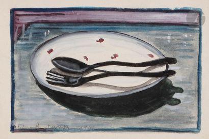 Ferdinand DESNOS (1901-1958) Le Couvert -...