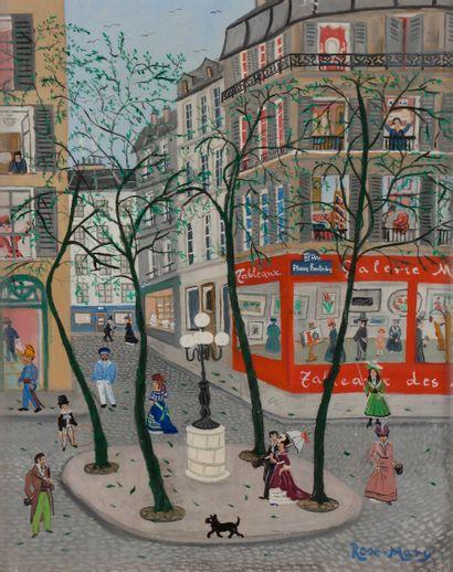 ROSE-MARY (XXe siècle) Paris, la place Fürstenberg...