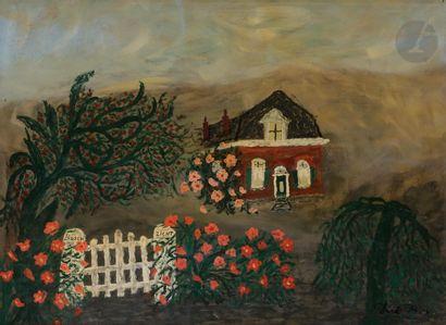 Dirk BOS (1890-1976) Ma Maison paternelle...