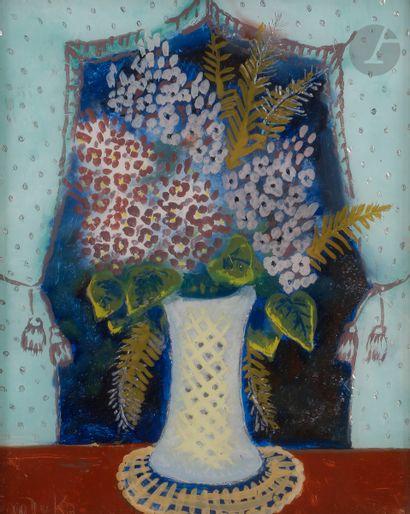 Madeleine Kula, dite LUKA (1894-1989) Fleurs...