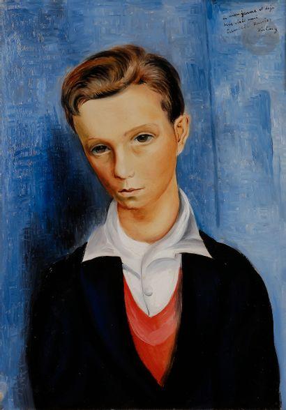 Moïse KISLING (1891-1953) Portrait de Camille...