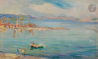 Charles CAMOIN (1879-1965) Saint-Tropez,...