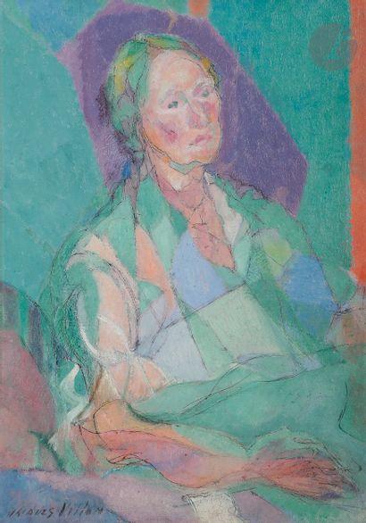 Jacques VILLON (1875-1963) Portrait de Madame...