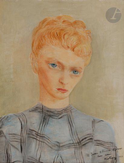 Moïse KISLING (1891-1953) Portrait de Jane...