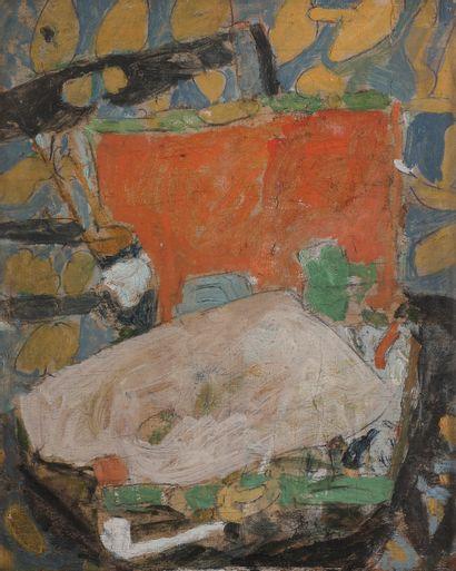 Jean Puni dit POUGNY (1892-1956) Chaise noire...