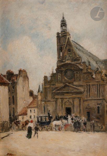Stanislas LÉPINE (1835-1892) Paris, mariage...